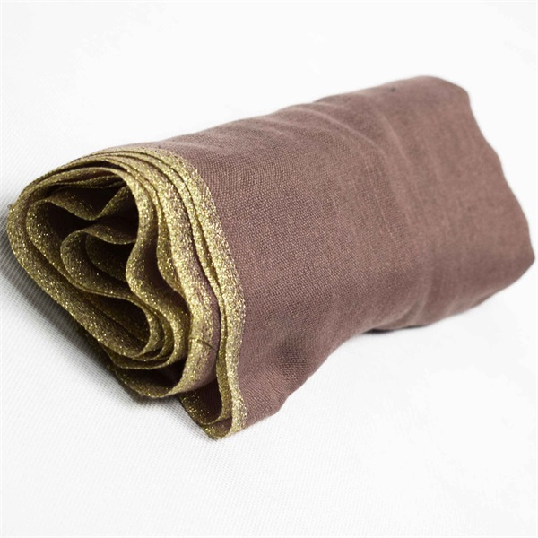 polyester voile scarf with lurex (1)