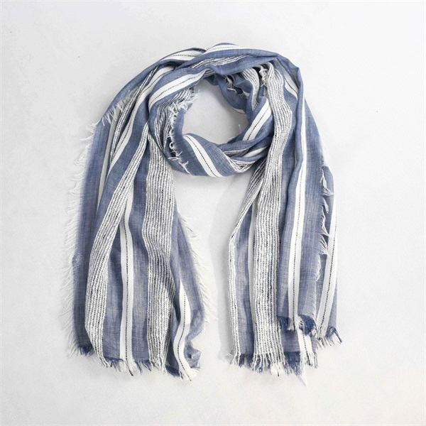 TT yarn special yarn striped scarf