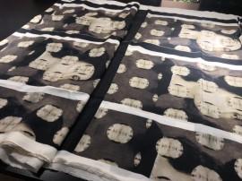 digital printed silk habotai fabric 15mm